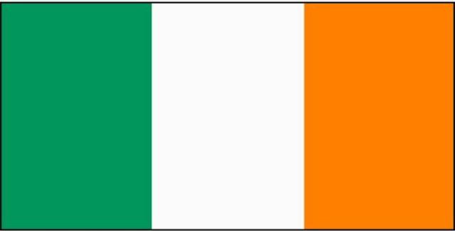 La bandera de la República de Irlanda