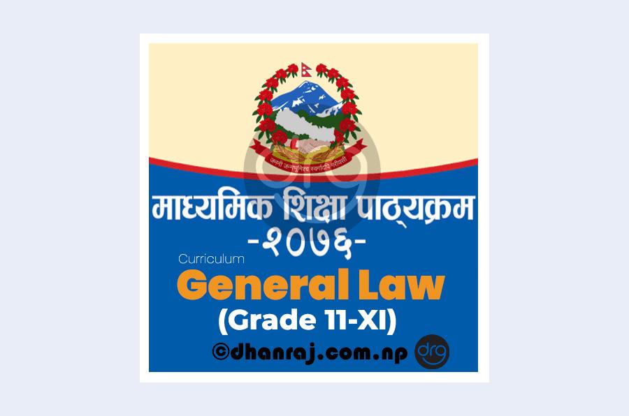 General-Law-Curriculum-Grade-11-XI-Subject-Code-Gel415-of-year-2076