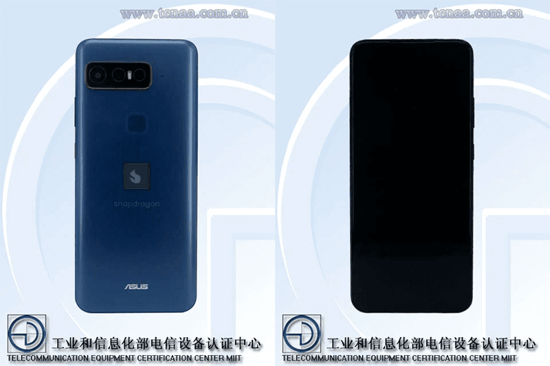 Qualcomm 'Snapdragon' branded ASUS gaming phone listed on TENAA!