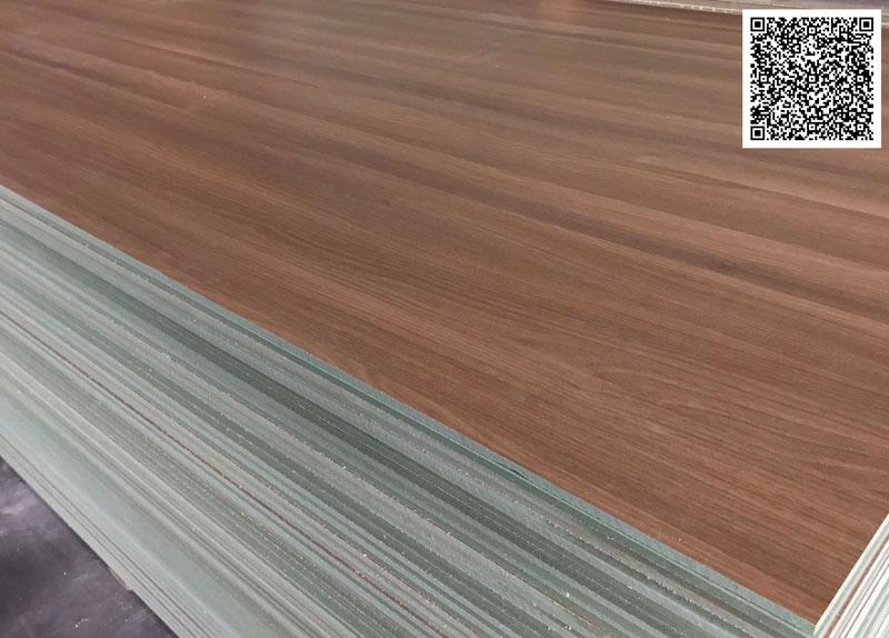 Ván MDF chống ẩm phủ melamine vân gỗ