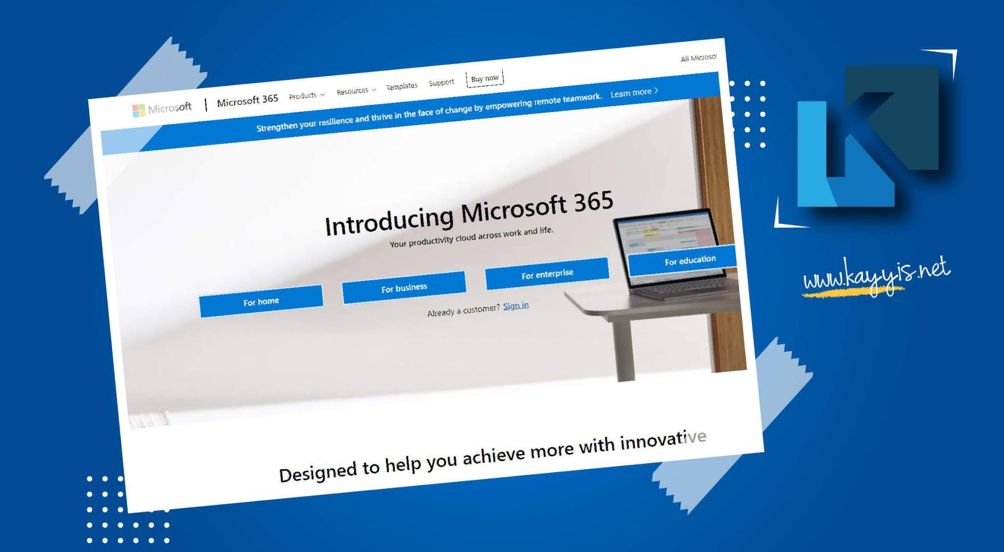 Akun Microsoft Office 365 Gratis Tidak Perlu Beli