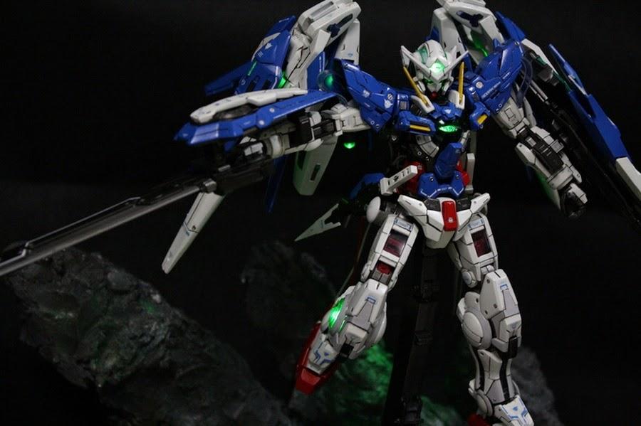 Custom Build: 1/100 Full Particle Boost Gundam Exia