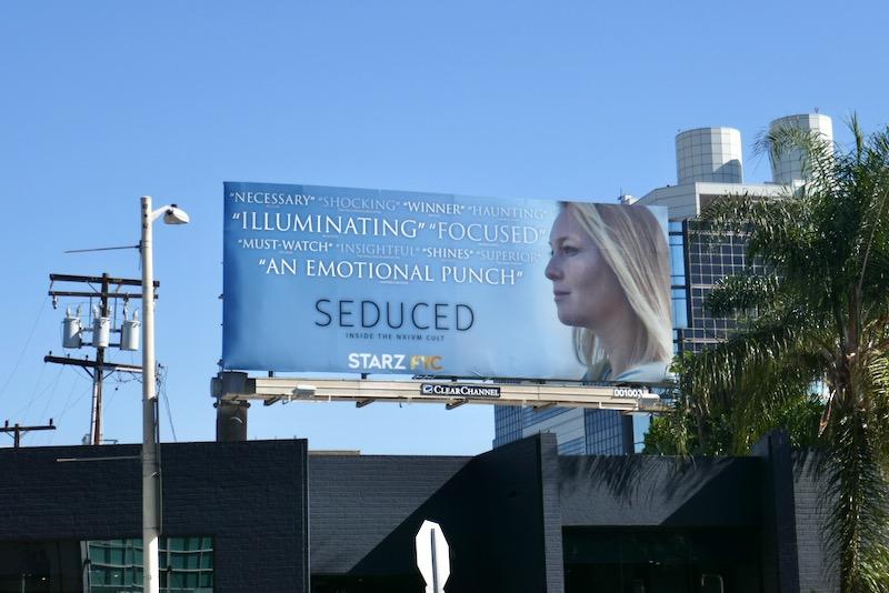 Seduced Inside NXIVM Cult FYC billboard