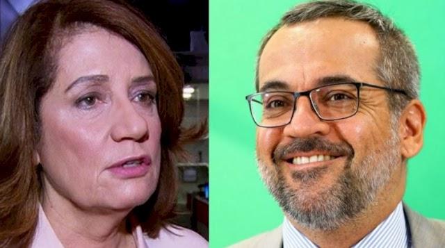 Weintraub chama Miriam Leitão de 'jararaca' e diz que ela está 'acabada'