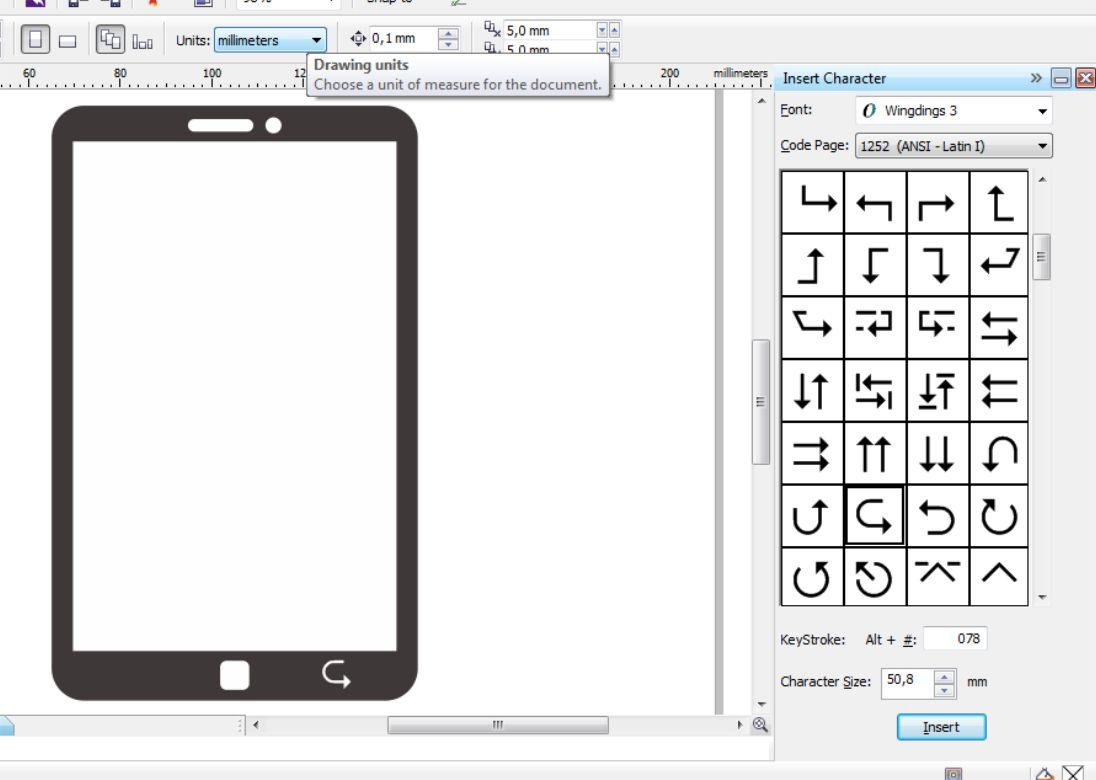 Cara Membuat Flat Desain Smartphone dengan CorelDRAW
