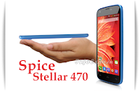Compare Spice Stellar 470 with Lava Iris Selfie 50 - Specs and Price