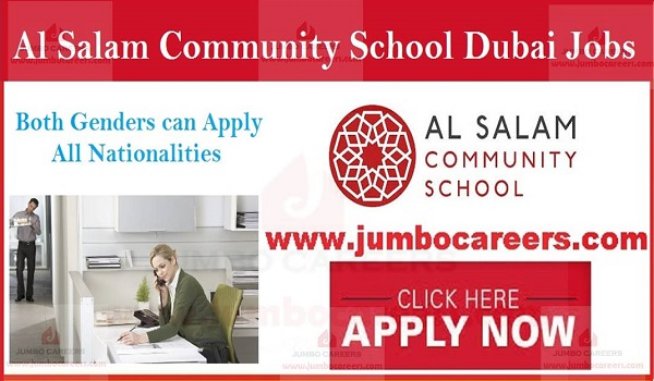 Available jobs in UAE, Current jobs in Gulf countries,