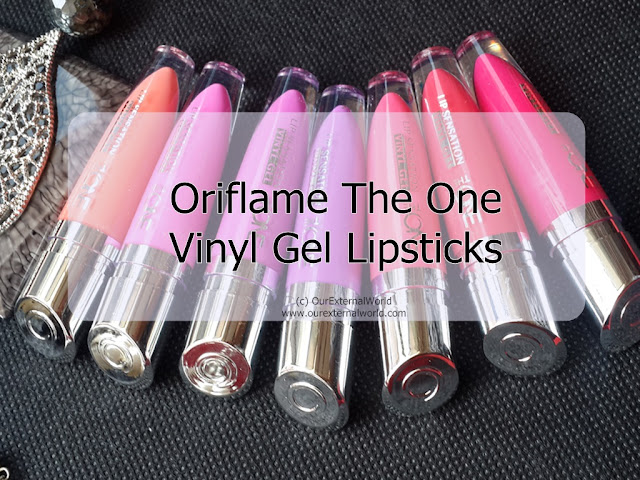 Oriflame The ONE Vinyl Gel Lipsticks