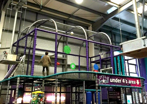 Morgan's Milieu | Escape Soft-Play Centre Review: A photo of the sports area in Escape