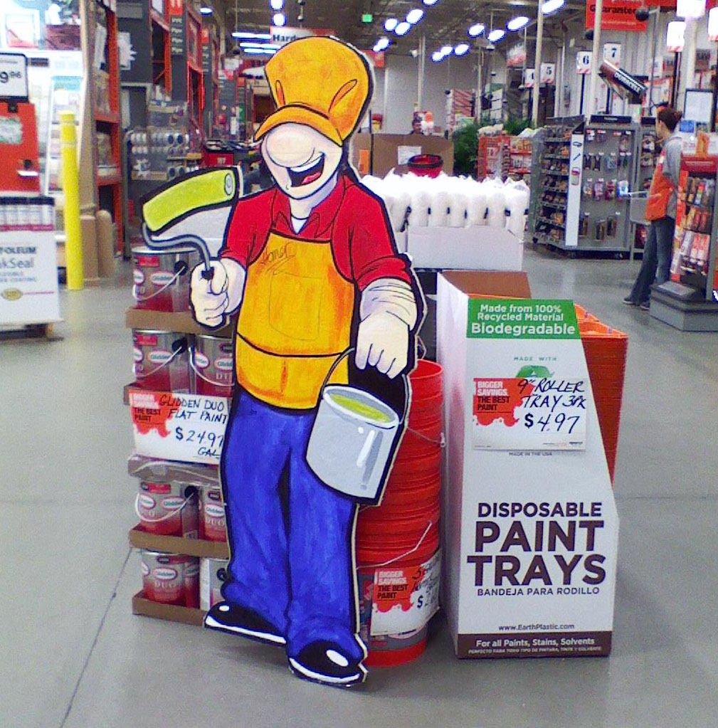 Homer Your Home Depot Paint Pal