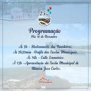 Água Doce-Ma: Prefeitura de Água Doce do Maranhão divulga a programação de Aniversário da cidade.