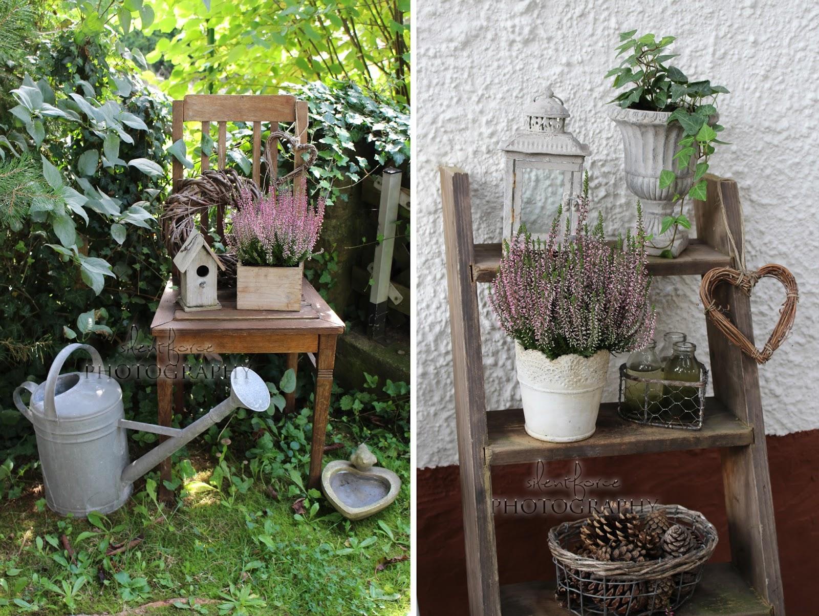 herbstliche deko im garten und ein wunderbarer flohmarktfund silentforce garden. Black Bedroom Furniture Sets. Home Design Ideas