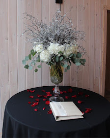 wedding entry table