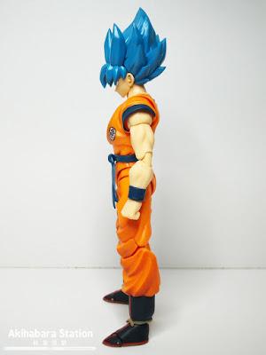 S.H.Figuarts Super Saiyan God Super Saiyan Son Goku de Dragon Ball Super: Broly - Tamashii Nations