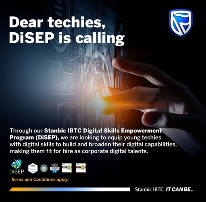 Stanbic IBTC Digital Skills Empowerment Program - DiSEP