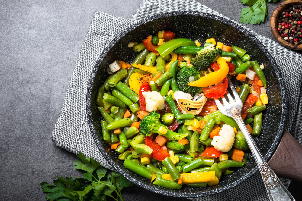 Stir Fry Vegetable Recipe in Hindi