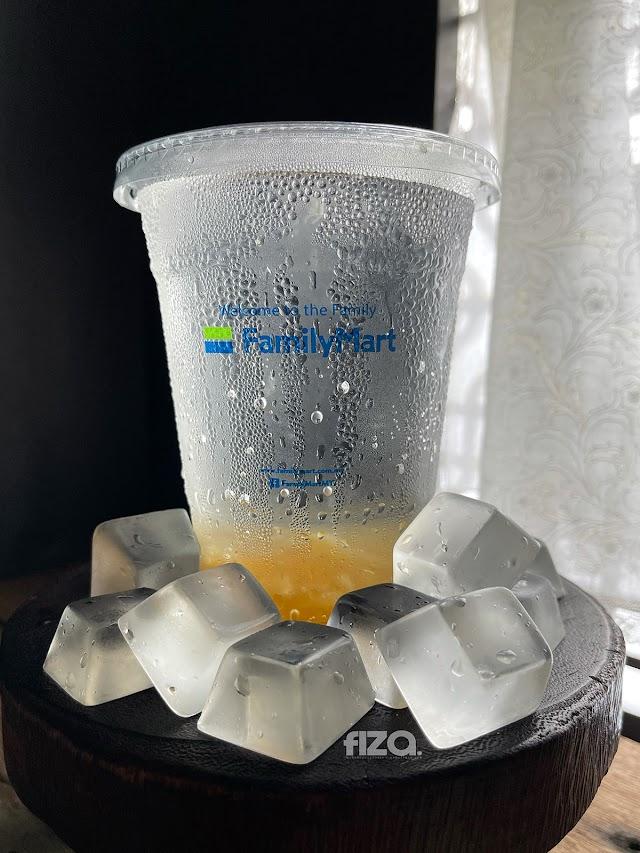 Sparkling Honey Citron Family Mart Air Soda Masam Manis