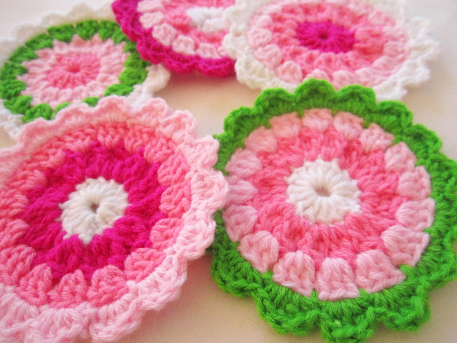 Crochet coasters - A little love everyday!