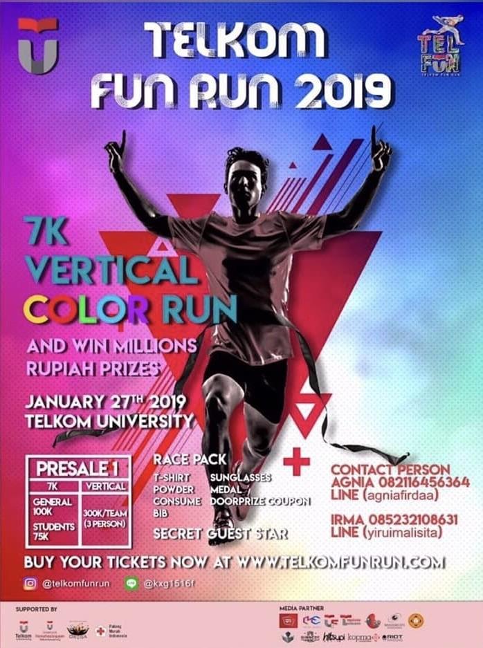 Telkom Fun Run • 2019