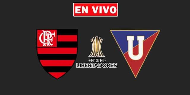 EN VIVO   Flamengo vs. Liga de Quito, jornada 5 del Grupo G Copa Libertadores¿Dónde ver el partido online gratis en internet?
