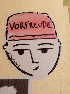 Vorfreude (Wandgesicht)