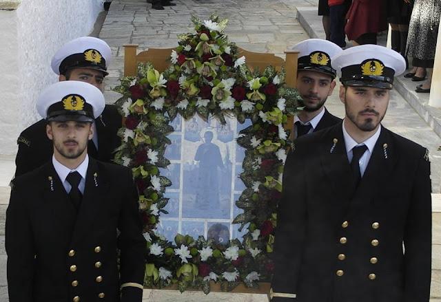 Η Ύδρα γιόρτασε τον πολιούχο της Νεομάρτυρα Άγιο Κωνσταντίνο τον Υδραίο