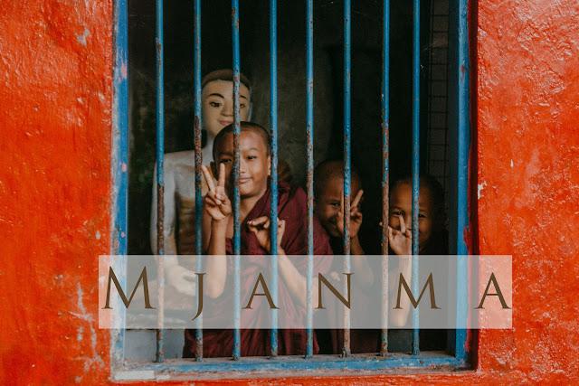 Mjanma autostopem, czyli podróż na pace wśród uśmiechniętych i wysmarowanych Thanakhą twarzy