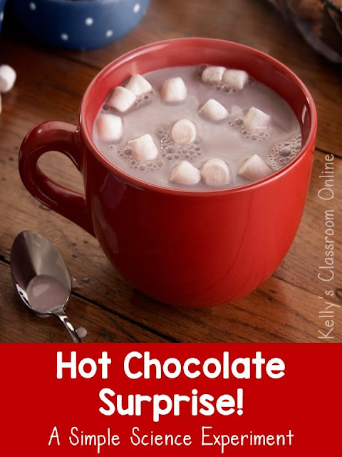 Learn about chemical changes with this simple science experiment. Mix hot chocolate, baking soda, and vinegar to make a messy HOT CHOCOLATE SURPRISE!
