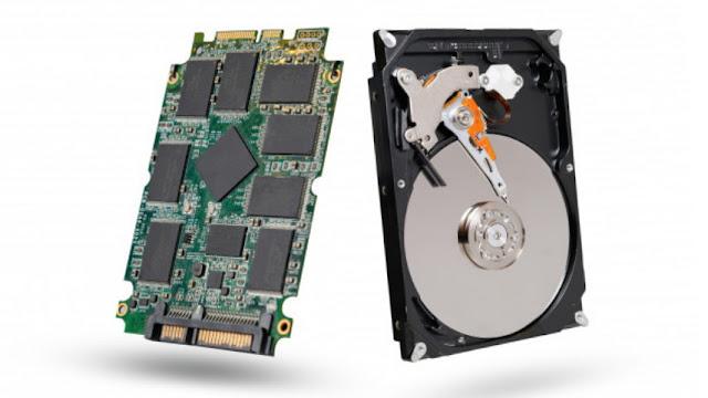 Perbedaan SSD dan HDD dari Cara Kerja