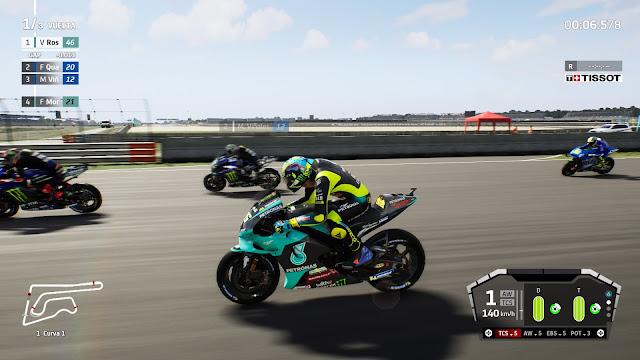 MotoGP21 Carrera