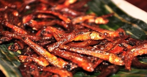 Spicy Dilis (Anchovies) Recipe