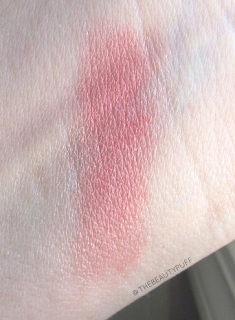 malibu glitz blush swatch - the beauty puff