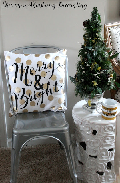 Colorful Christmas Decor, Chic on a Shoestring Decorating, Merry & Bright Holiday Home Tour