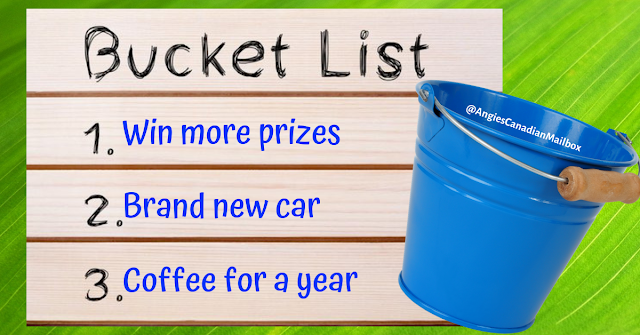 Win more prizes with a bucket list