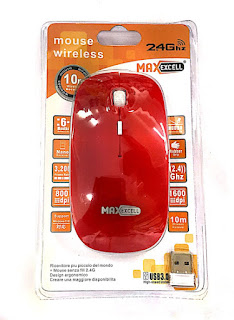 mouse slim wireless maxexcell ingrosso cinese napoli