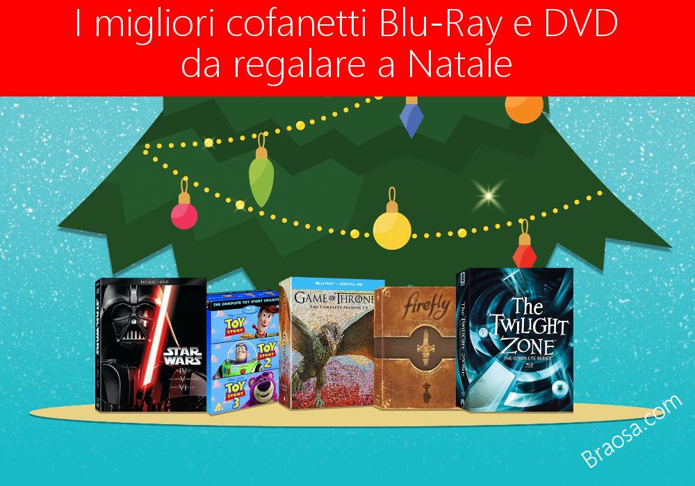 I più bei cofanetti DVD e Blu-ray da regalare per il Natale