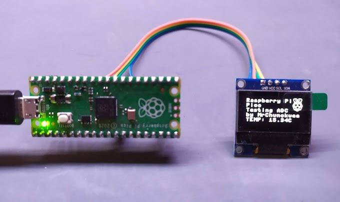 Raspberry Pi Pico: Uso del sensor de temperatura interno del RP2040