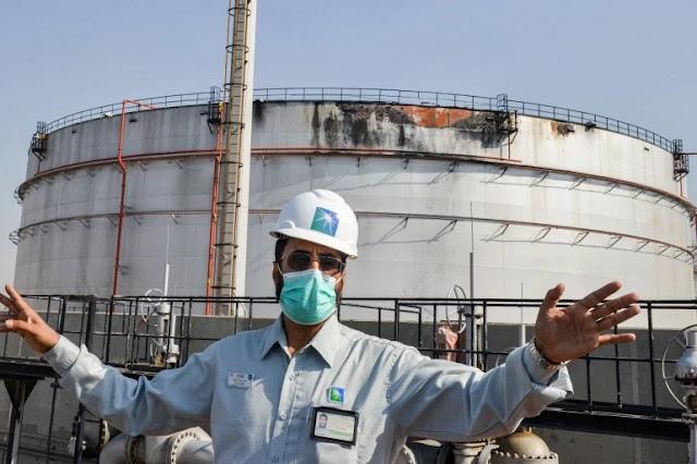 சவுதி அரேபியாவின் மிகப்பெரிய எண்ணெய் நிறுவனம் மீது ஏவுகணை தாக்குதல்!