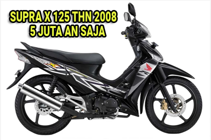 Spesifikasi Dan Harga Bekas Honda Supra X 125 Tahun 2008 Semarang