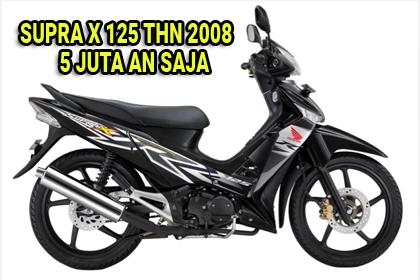 Spesifikasi Honda Supra X 125 Tahun 2008