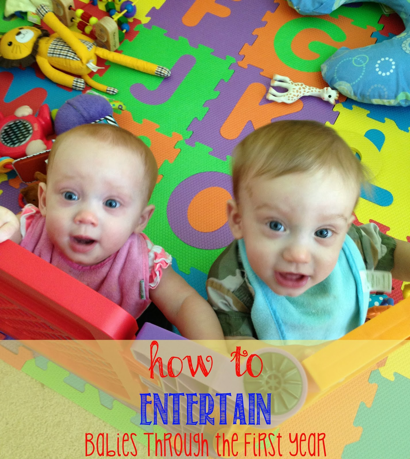 Purposeful play how to's and toy suggestions for baby's first year #play #babies #homeschooling #totschool