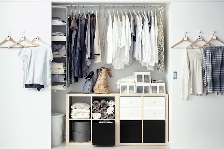 inspiration et conseils pour am nager son dressing. Black Bedroom Furniture Sets. Home Design Ideas