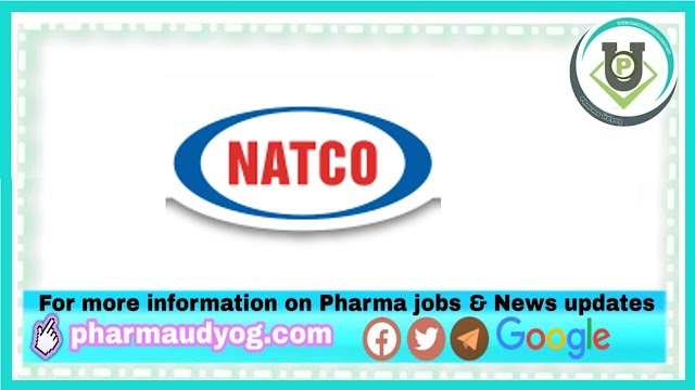 Natco Pharma | Walk-In for Freshers and Expd on 13th Mar 2021