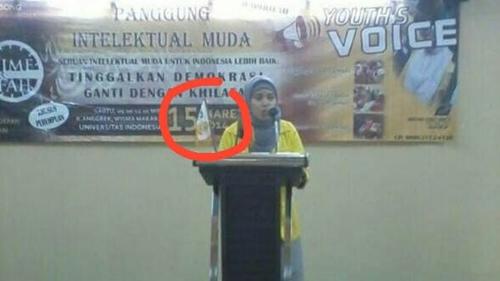 Mahasiswa UI Bicara Soal Ganti Demokrasi Jadi Khilafah, Netizen: Kampus Ternak Generasi Pengkhianat