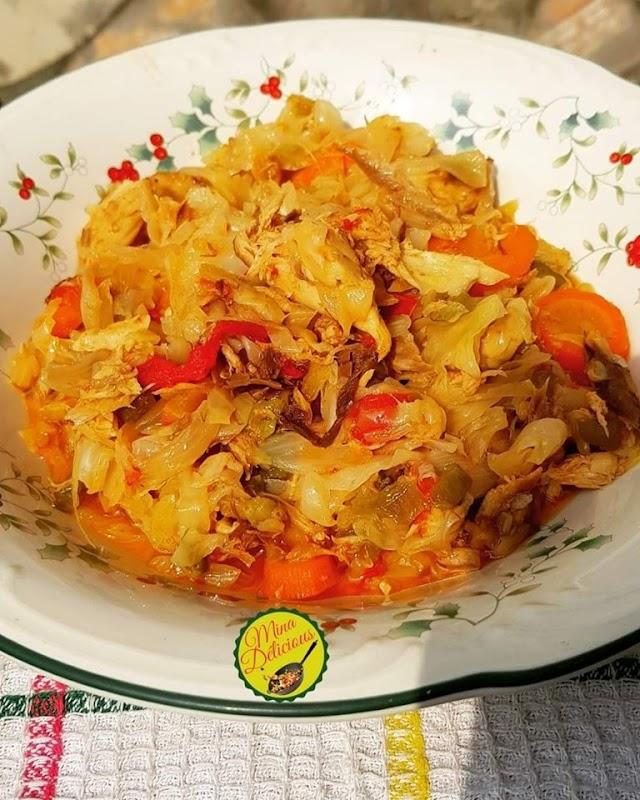 Les recettes de Mina Delicious : Le maquereau fumé aux choux carottes