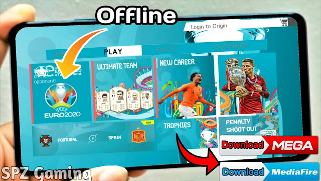 FIFA 20 Android EURO 2020 Edition Offline 900MB Best Graphics New Update Apk+Obb
