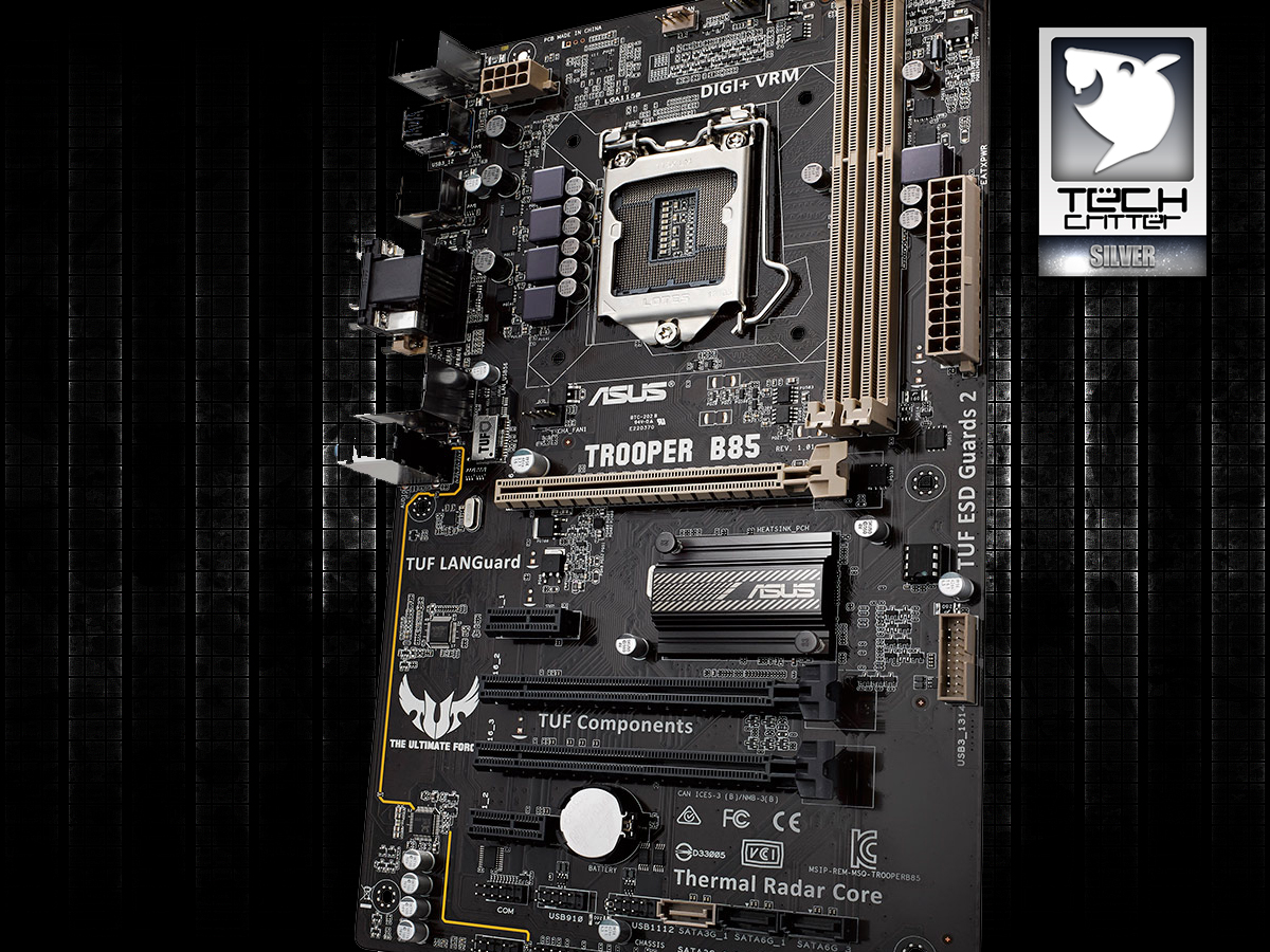Unboxing & Review: ASUS Trooper B85 32