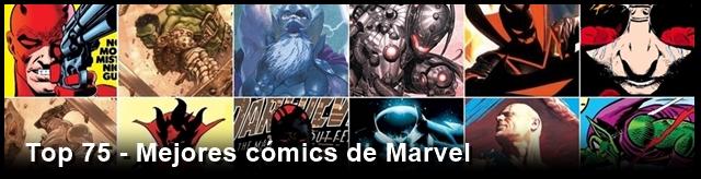 Top cómics Marvel