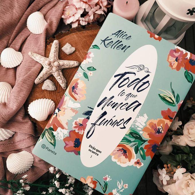 Foto del libro Todo lo que nunca fuimos de la autora Alice Kellen