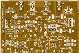 Layout PCB Driver SOCL 506 Plus Input Balance
